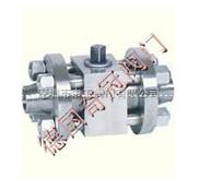 进口高压对焊球阀结构、