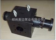 塑钢带用熔体泵\高温齿轮泵\熔体计量泵